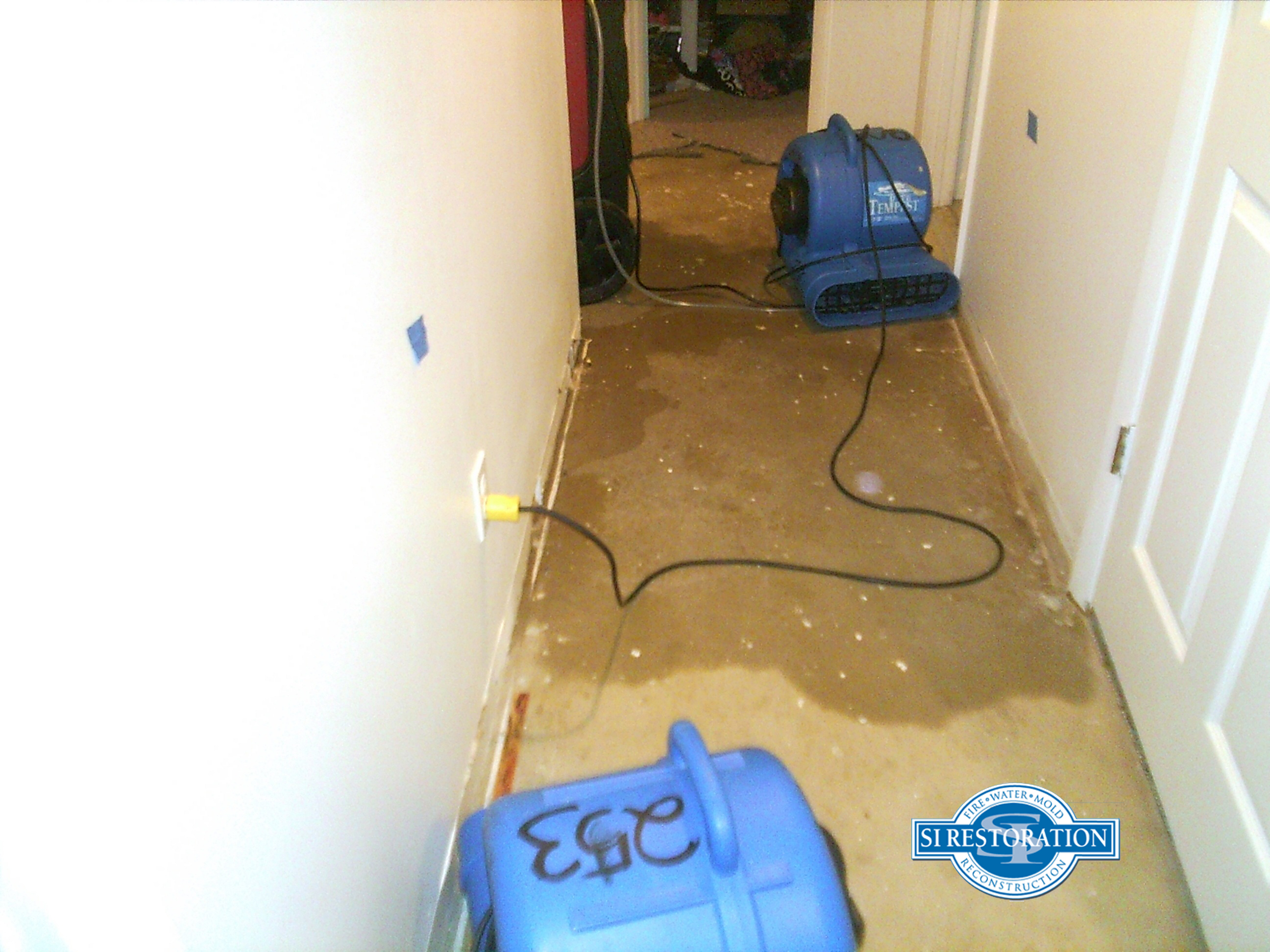Water Damage Cleaning Reservoir